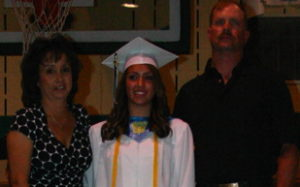 Heather Wanstedt was valedictorian of the 2009 class.