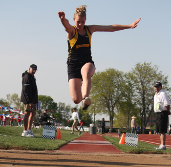 Kathryn Doll earns four medals at state track in Lakewood