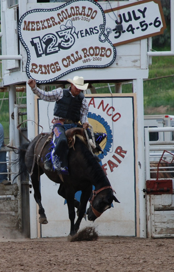 Photo by Gidget Jones. Colorado's longest-running annual rodeo will take place this weekend at the Rio Blanco County Fairgrounds during Meeker's Fourth of July celebration — Range Call.