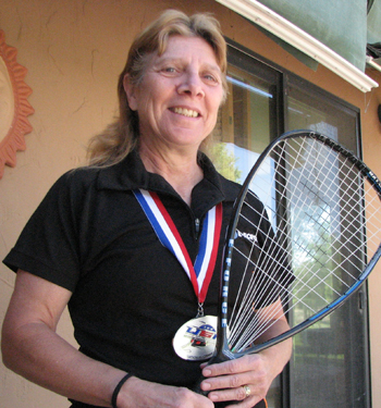 Ranked second nationally in her age group, Rangely's Shirley Parsons has been playing racquetball for more than 30 years.