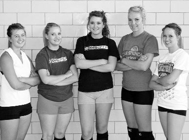 Volleyball scrimmage Saturday