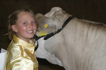 Lori Ann Klinglesmith, beef reserve champion, and other county fair participants are recognized in this week's fair results special edition.