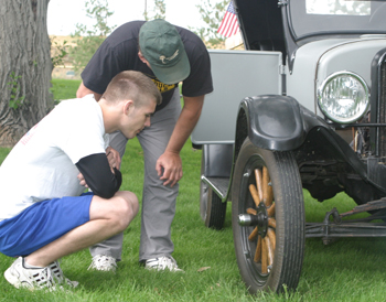 Organizers hope the weather will cooperate for this year's Septemberfest Car Show on Monday.