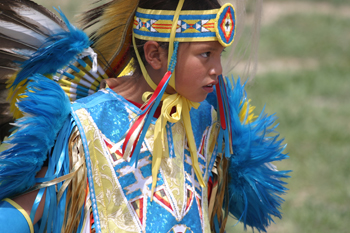 Ute dancers will participate in this weekend's two-day Smoking River Pow Wow, which begins Friday. Ute Park will open at 3 p.m., with the grand entry at 7 p.m.