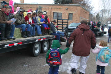 Slide Show: Holiday Hayride