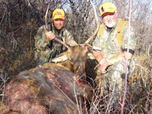 courtesy photo George Emigh and Lew Cramer, both of Pennsylvania, enjoyed their recent experience of hunting in the Meeker area and are looking forward to returning.