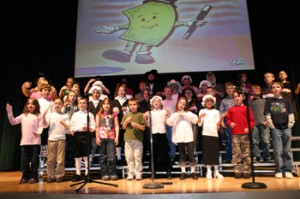 "Parkview Elementary third-graders performing ""Show Me the Money"""