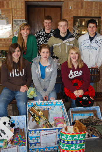 Honor Society toy drive
