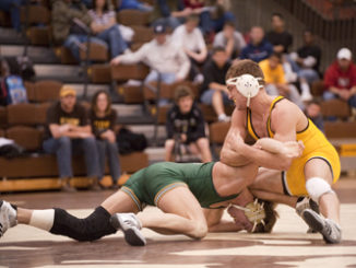 2010 Wrestling vs Utah Valley Joe LeBlanc