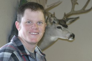 Ryan Huitt of Rangely opened a taxidermy business last year called Wildlife Expressions. An avid hunter and outdoorsman, Huitt attended a taxidermy school in Montana.