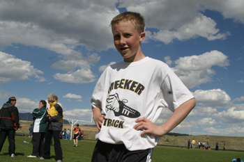 jeff burkhead Tristin Pelloni competed in last Wednesdays track meet, hosted by Barone Middle School. It was the final junior high track meet of the season for both Meeker and Rangely.