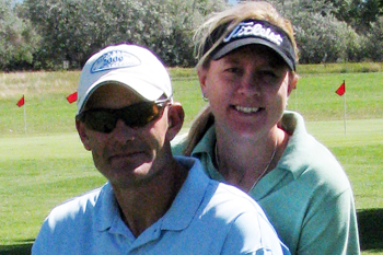 Kirk and Deb Henderson had the second best net score of 126.