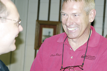 Dr. John Boyd's big smile will be missed, the president of CNCC announced his resignation Monday. Boyd and his wife Betty will be moving to the east coast in 2011.