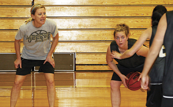 Deb Henderson was named the head coach for the Meeker girls' basketball team by the Meeker School Board Tuesday and will take her team on the road this weekend for league games in Hayden and Vail.