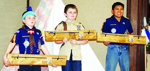 Cub Scouts earn Arrows of Light