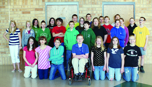 Several Rangely Junior High School students competed in the 10th annual Colorado Northwestern Community College Science and Engineering Fair and several teams performed well. Courtesy Photo