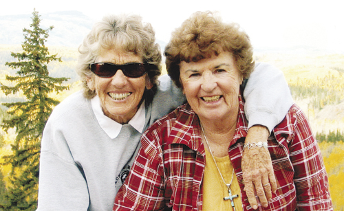Betty and Norma Oldland share more than a last name. They've been best friends since they were in the first grade.