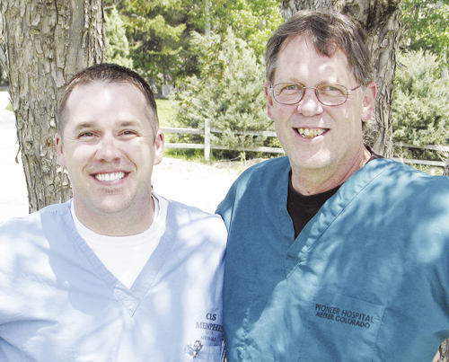 Brandon Aven, a certified registered nurse anesthetist, and general surgeon Dr. James Jex recently joined the PMC staff, expanding the surgical services the local hospital can perform.