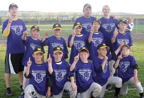 Meeker Rockies win title