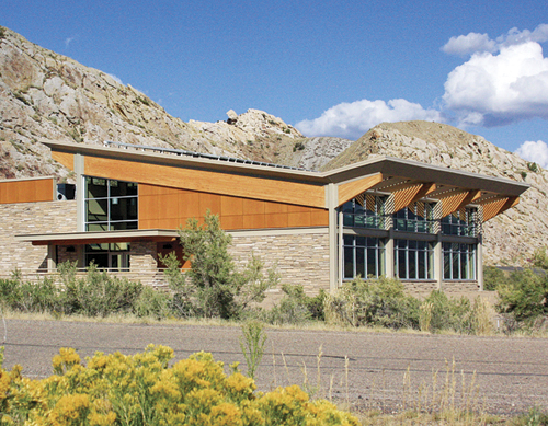 visit ... Secretary of the Interior Ken Salazar will dedicate the new Quarry Visitor Center at the Dinosaur National Monument, Wednesday, Sept. 28, 2011. Salazar will be the keynote speaker at the ribbon cutting ceremony. The new 10,500 square foot quarry exhibit hall will open to the public Oct. 4. It has been more than five years since the public has seen the dinosaur fossils. courtesy photo
