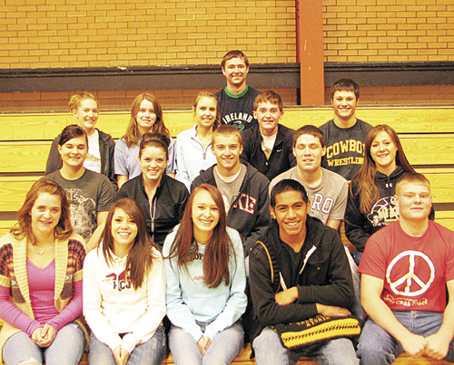 Academic all-state students named