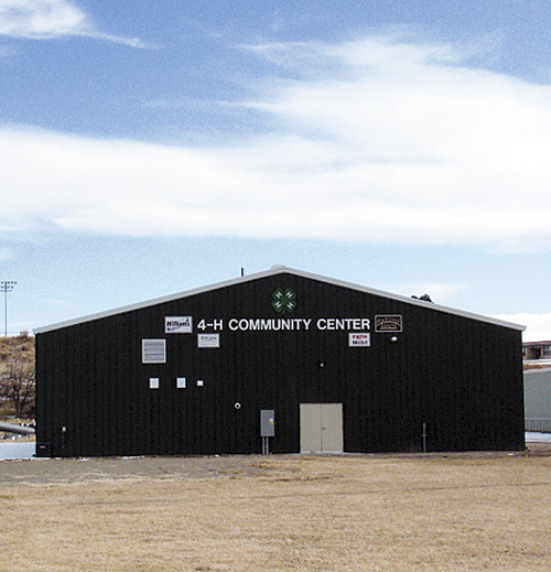 The new 4-H building at the fairgrounds will be the site of New Year's Eve revelry on behalf of Range Call 2012.