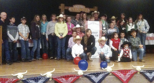 The 2011 4-H achievement night was recently celebrated in Meeker and Sunday last in Rangely, with great participation at both ends of the county.