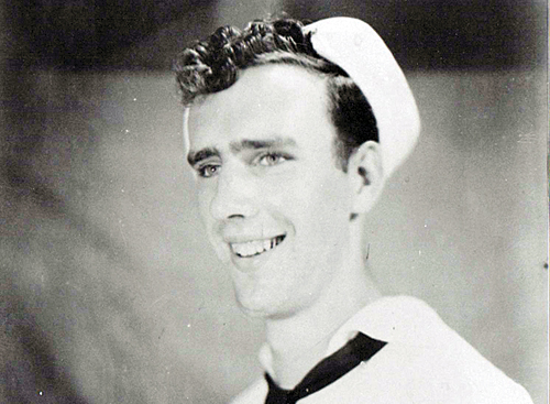 Allen served in the United States Navy during the Second World War.