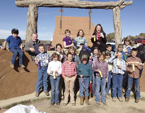 Members of the Rio Blanco County 4-H Livestock judging team, many traveling for the first time, did well representing the county in the Four States Ag Expo held in Cortez, March 16.