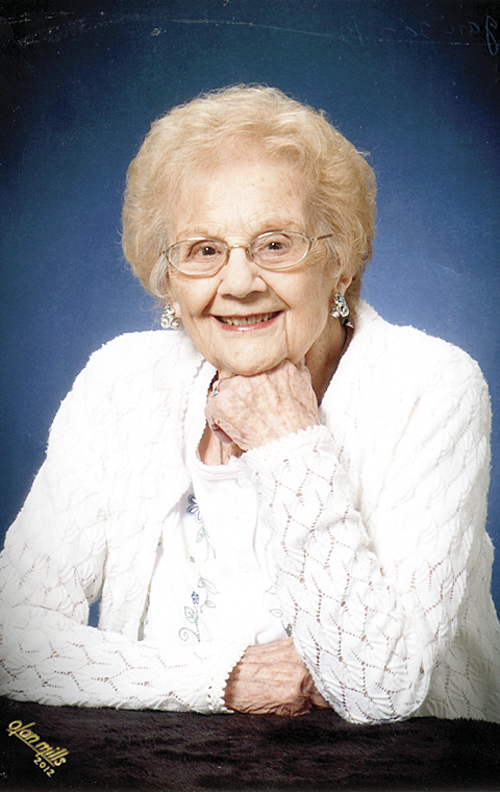 Evelyn Metzger, who will celebrate her 99th birthday on April 20, came to Meeker with her widowed, pregnant mother and three siblings in 1919 in a covered wagon. She has attended the Old Timers Celebration for more than 75 years.