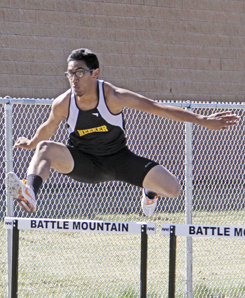 In addition to being a member of two relay teams, Tala Atoafa entered the 110-meter high hurdles, earning a fourth place finish. The state-qualifying league meet will start Friday in Grand Junction.