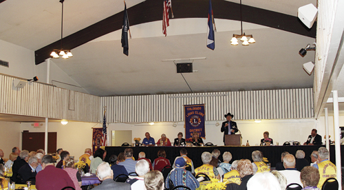 Lions Club hosts 6-W District Convention