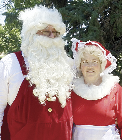 It was a little warmer than normal for Santa and Mrs. Claus to be out, but they came out in support of the Capitol Christmas Tree project anyway.