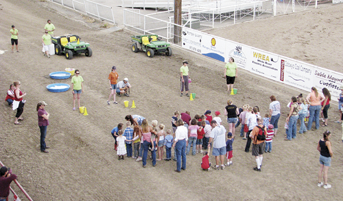 The final events for the 127th annual Range Call Celebration will fittingly be the annual Ranch Rodeo and kids playing games on the track Sunday, July 8, starting at 1 p.m.