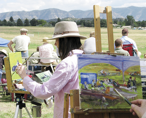 "Many events will be happening downtown starting with the Plein Air ""In the open air"" art reception will be held downtown and art will be displayed and available for auction at the Meeker Public Library. The Run for Your Life 5K Walk/Run will start the July 4, celebration with registration starting at 6:30 a.m., the run starting at 7:30 a.m., and the walk at 8 a.m. The local Masonic Lodge will provide a Pancake Breakfast from 7-10 a.m."