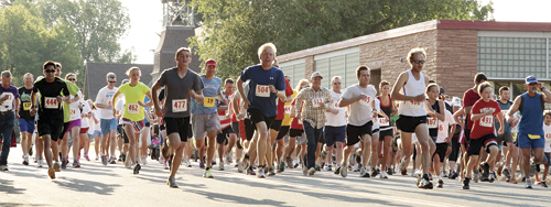 Scoggins dominates Run for Your Life 5K run