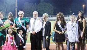 2012 Rangely ­High School Homecoming Royalty