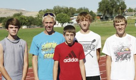 RHS cross country team members Daniel Connors, William Scoggins, Chris Hogan, Mitchell Webber and Kaycee Freemann are headed to Basalt this weekend for their next round of competition.