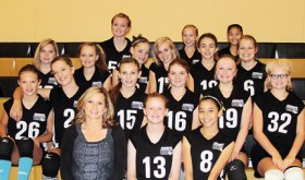 Barone Middle School volleyball