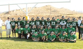 Rangely Jr. High Panthers football team