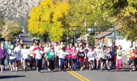 The Scrub Shirt Classic Race started the 2012 Fall Festival last Saturday in Meeker and 43 fifth- and sixth-graders completed the 5K. More than 50 percent of the fifth-grade participated.