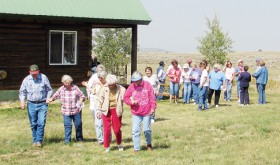 More than 20 people recently gathered at Lime Kiln, south of Meeker and shared stories with appreciation of a life on the mountain.