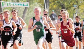 Rangely senior William Scoggins won the state qualifying regional cross country meet last Saturday and will run for a state title this Saturday in Colorado Springs.