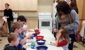 Children design and decorate gingerbread men at the recreation center decorating party held during Christmasfest. The district is bringing new offerings and local favorites to its winter schedule, including craft nights, Turbo Kick workouts and swim lessons. Pick up a complete schedule at the recreation center.