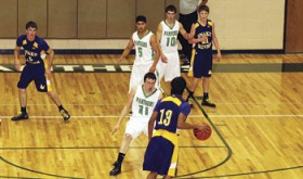 The Rangely Panthers boys' basketball team defeated the North Park Wildcats 47-38 in its first home game of the season, then lost to the Little Snake River Rattlers 44-48. The Panthers will not play again until Jan. 11, 2013, in Paonia, in a non-league game.