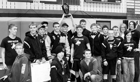 The Meeker Cowboy wrestling team won its third tournament in a row last Saturday in Rangely and will be tested this Saturday in Paonia.