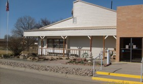 New siding was installed at the Radino Senior Center in Rangely.