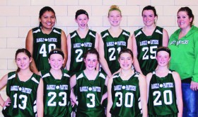 Rangely, Meeker middle school girls each win two