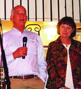 Dean Hubble and Peggy Shults