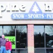 Meeker resident Nettie Faye Modlin thanks Frank Cooley for taking her son Larry (pictured with his wife Becky) skiing as a boy in Meeker. Shes proud her son pays it forward. As owner of Alpine Haus in Greeley, Larry ran a ski bus service to resorts near Greeley six times a year and was known as one of northern Colorados leaders of recreation.